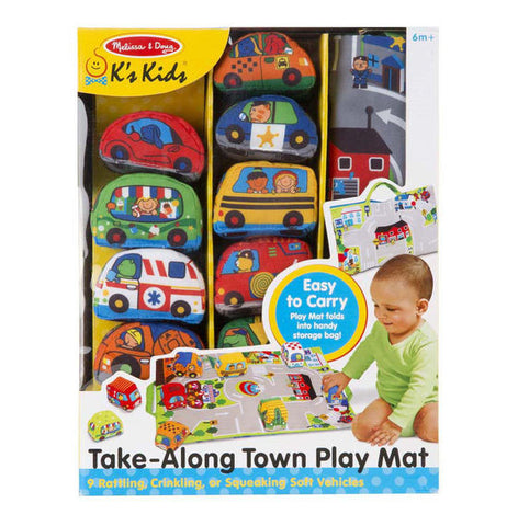Take-Along Town Play Mat By Melissa & Doug - Bloxx Toys - Toronto Online Toys Store - 1