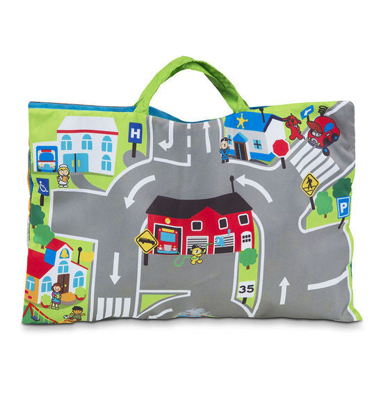 Take-Along Town Play Mat By Melissa & Doug - Bloxx Toys - Toronto Online Toys Store - 4