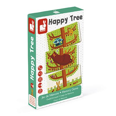 Memory Game Happy Tree By Janod - BloxxToys Canada