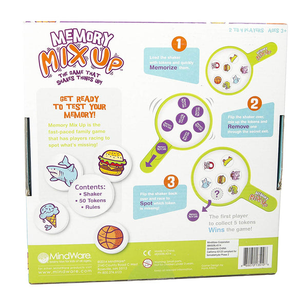 Memory Mix Up Educational Family Game By MindWare-Bloxx Toys-Toronto toys, toy,Autism Toys Montreal toys, Alberta toys, Ontario toys, Quebec toys, Children Toys,Kids Toys,Educational toys Online Toys Store Canada