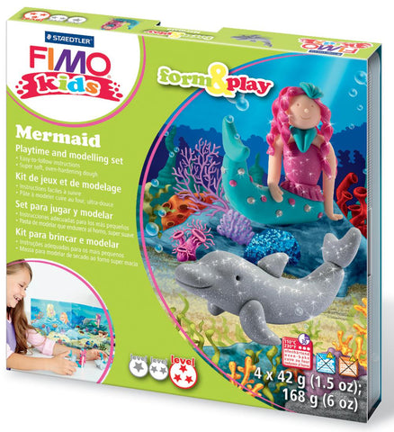 Mermaid Play Modelling Kit By Fimo  BloxxToys Arts, Crafts