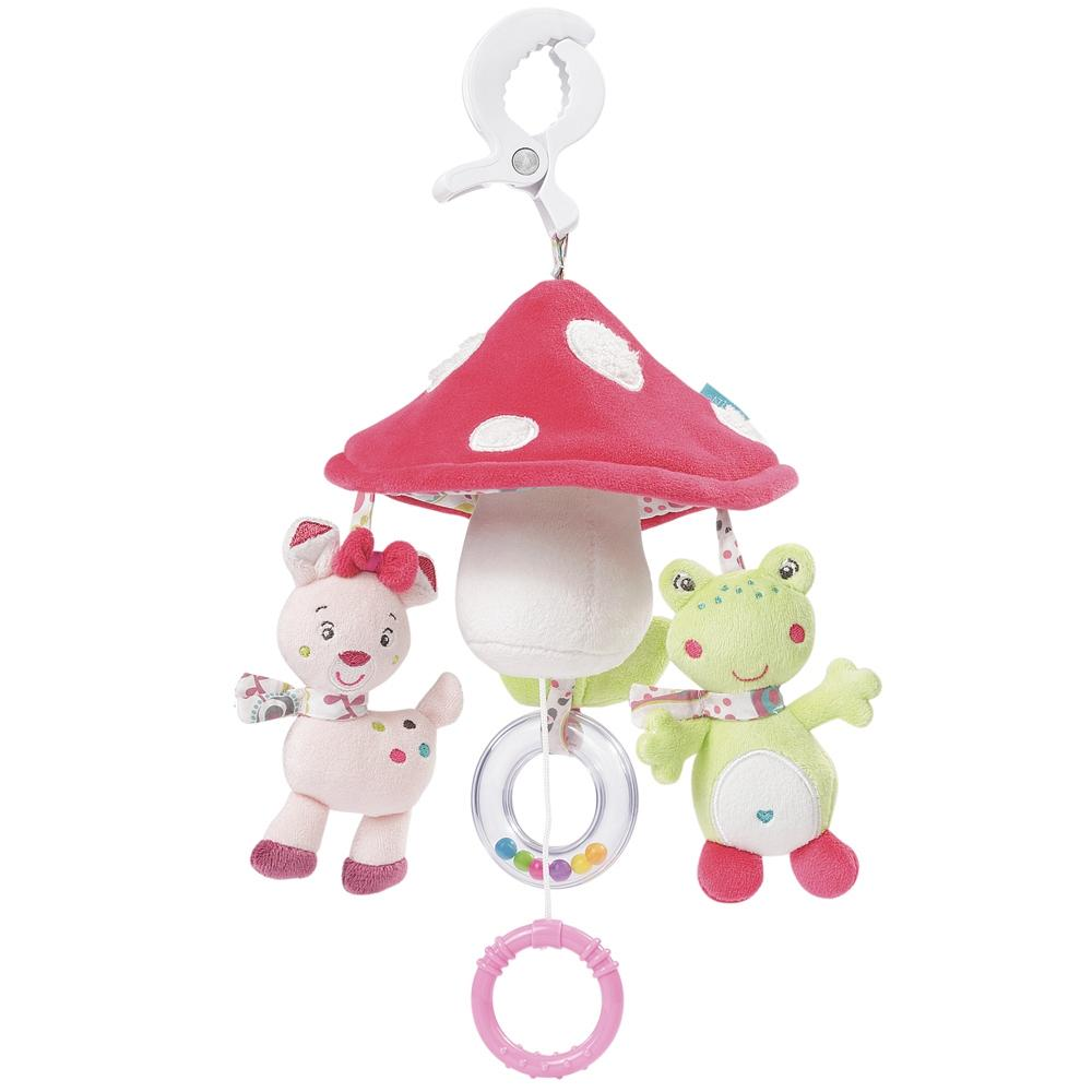 Mini Musical Mobile Mushroom By Fehn - Bloxx Toys - Toronto, Montreal, Vancouver, Kids, Parents, Present, Shopping online, Ontario, Quebec, - Educational Online Toys Store Canada