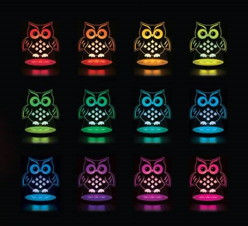 Multi Coloured LED Night Light By Tulio Dream Lights