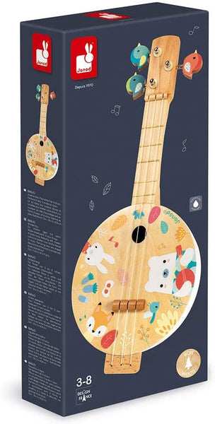 Musical Instrument Banjo By Janod | Wooden Toys Canada