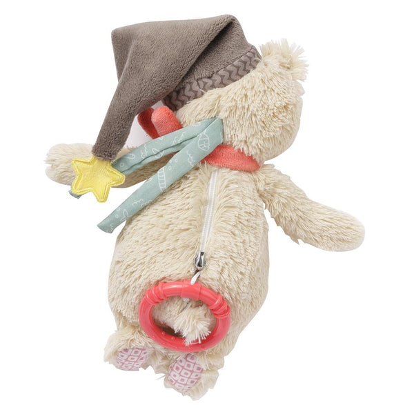 Musical Plush Bear By Fehn | Baby Plush Toys Canada