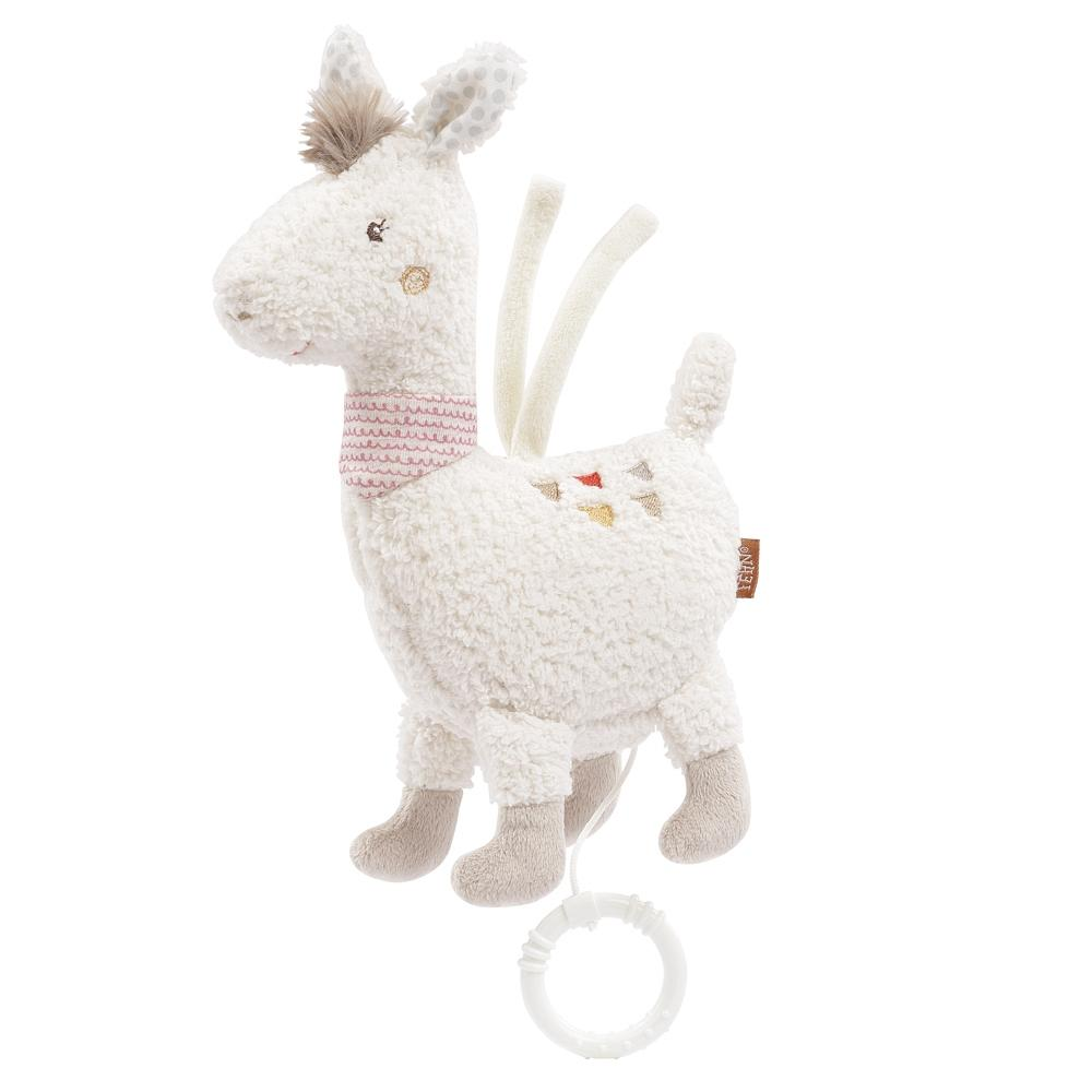 Musical Plush Lama By Fehn | Baby Plush Musical Toys