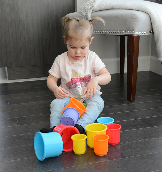 My First Stacking Cup By Pakö | Educational Baby Toys Canada