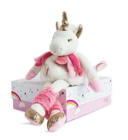 My Pretty Unicorn - Stuffed toy 22 cm By Doudou - BloxxToys