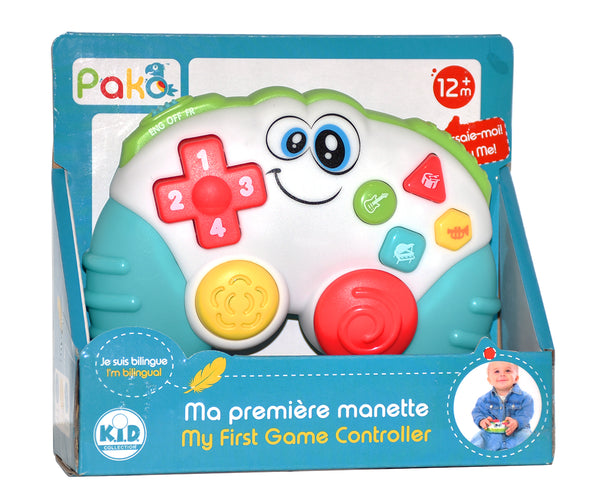 My first game controller Bilingual By Pakö | BloxxToys Canada