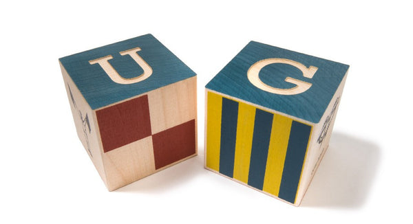 Uncle Goose Nautical Block Set with Canvas Bag - Bloxx Toys - Toronto Online Toys Store - 6
