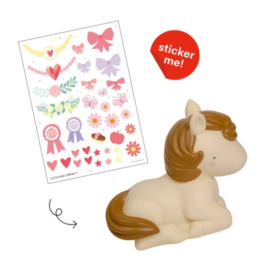 Nightlight Horse By Little Lovely -Bloxx Toys-Toronto toys, toy, Canada, Decor, Room Decor, Autism Toys, Ontario toys, Quebec toys, Children Toys,Kids Toys,Educational toys, Online Toys Store Canada