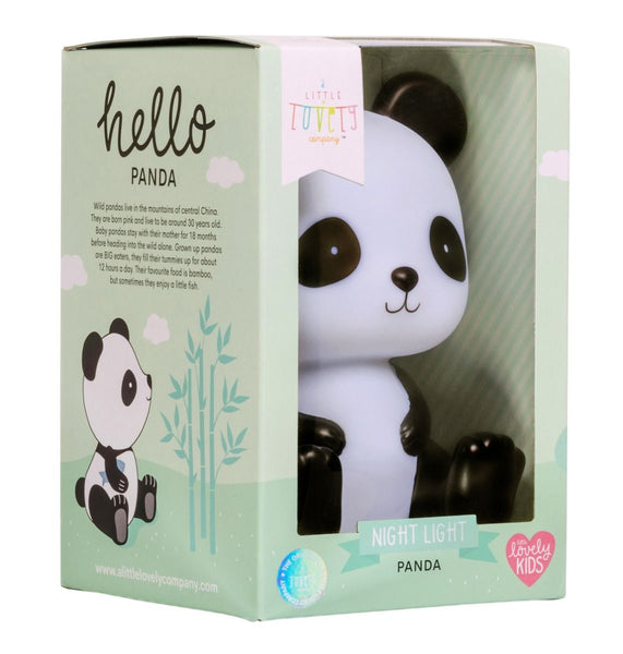 Nightlight Panda By Little Lovely-Bloxx Toys-Toronto toys, toy, Canada, Decor, Room Decor, Autism Toys, Ontario toys, Quebec toys, Children Toys,Kids Toys,Educational toys, Online Toys Store Canada