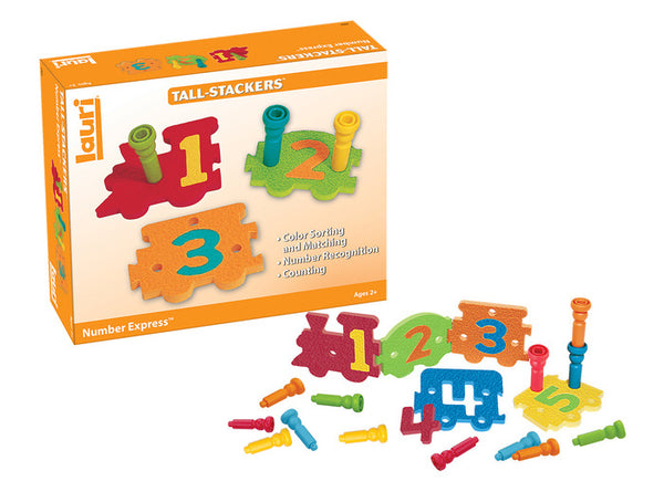 Number Express By Lauri - Bloxx Toys - Toronto - Educational Online Toys Store Canada
