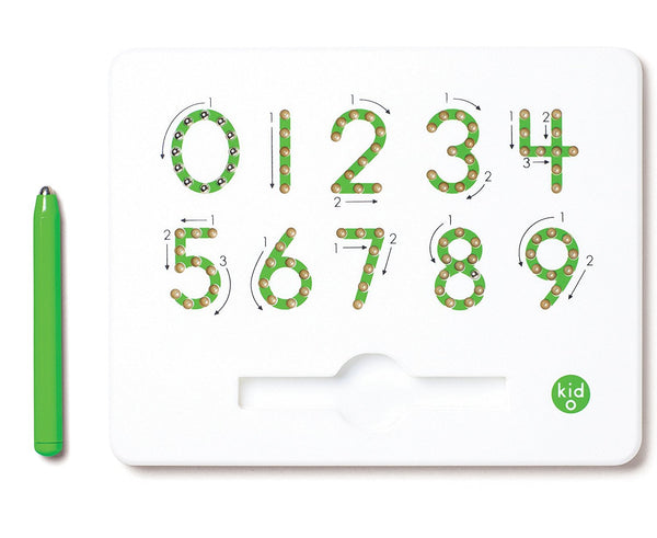 Numbers Magnatab Tracing Letters Toy from 0 to 9 By KIDO