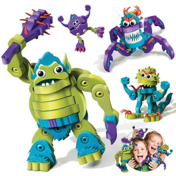 Ogre & Monsters Foam Blocks By Bloco - Bloxx Toys - Toronto Online Toys Store - 4