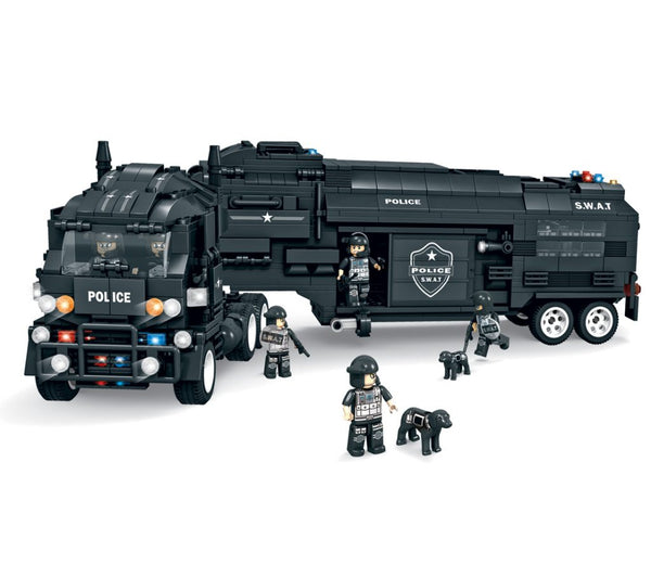 Operations Center S.W.A.T  by BricTek- Bloxx Toys - Toronto, Montreal, Vancouver, Autism Toy, Toys, Best prices, Fast Shipping, Educational Toys, Learning Toys, Online Toys Store Canada