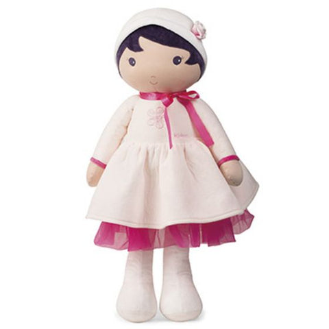 PERLE Tendresse Soft XL white and pink Doll Toy -By Kaloo Toronto