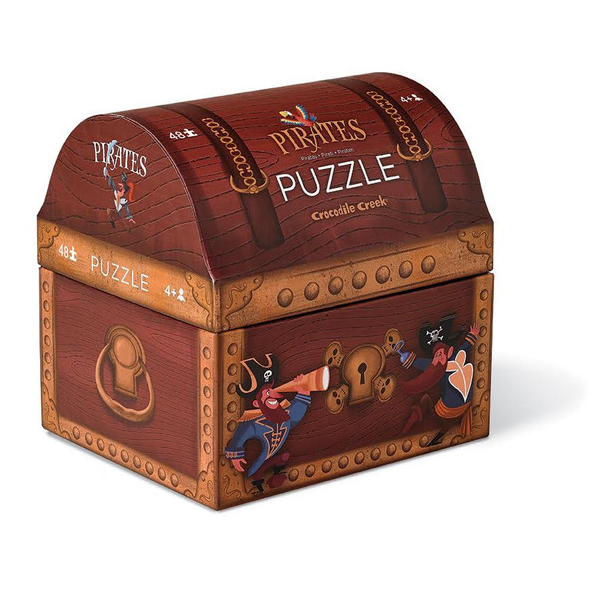 PIRATES TREASURE Puzzle-48 piece By CROCODILE CREEK - Bloxx Toys - Toronto Online Toys Store - 4