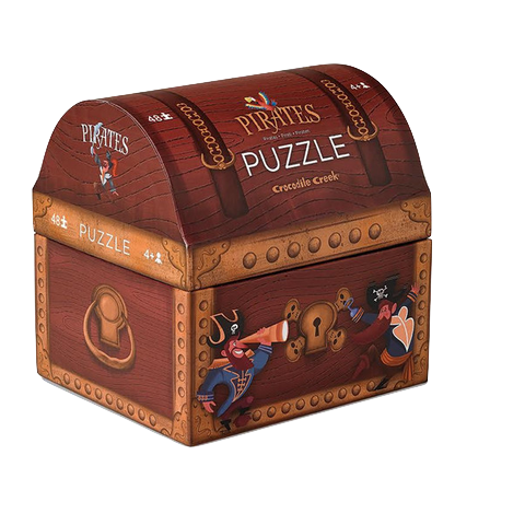 PIRATES TREASURE Puzzle-48 piece By CROCODILE CREEK - Bloxx Toys - Toronto Online Toys Store - 1