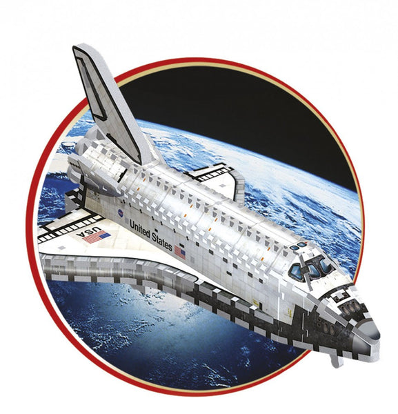 PUZZLE 3D SPACE SHUTTLE - ORBITER - Bloxx Toys - Toronto Online Toys Store - 2