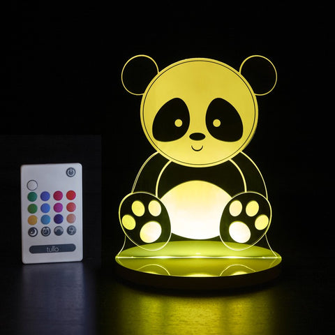 Panda Bear Multi Coloured LED Night Light By Tulio Dream Lights - Bloxx Toys - Toronto Online Toys Store
