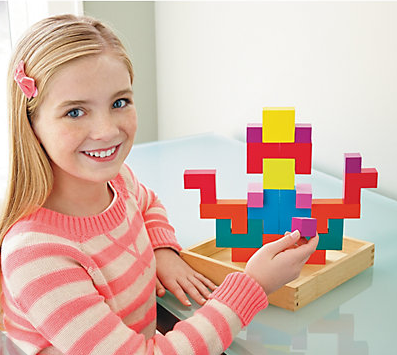 Pattern Play 3D Multi Shaped Wooden Blocks By MindWare - Bloxx Toys - Toronto Online Toys Store - 2