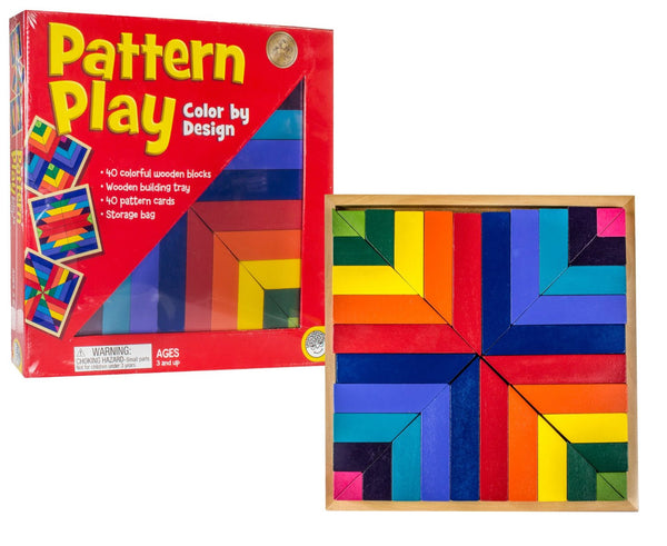 Pattern Play Color Design By MindWare - Bloxx Toys - Toronto Online Toys Store - 4