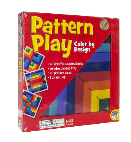 Pattern Play Color Design By MindWare - Bloxx Toys - Toronto Online Toys Store - 1