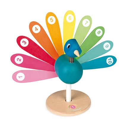Peacock Learn to Count By Janod  Educational Toys  BloxxToys