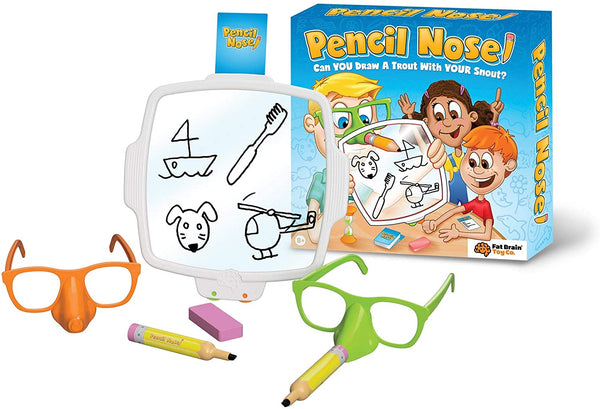 Pencil Nose By Fat Brain Toys | Party Game | BloxxToys Canada