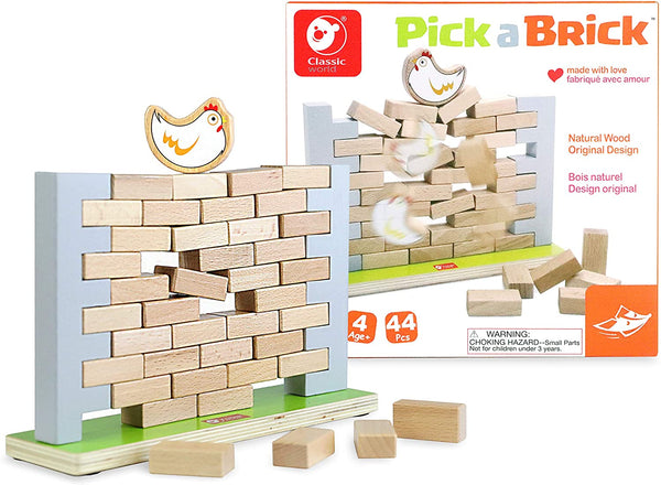 Pick a Brick Strategic and Logical Game By Foxmind | BloxxToys