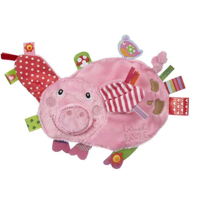 Pig Sensory Blankets By Label Label - Bloxx Toys - Toronto Canada Online Toys Store Baby Shop Products