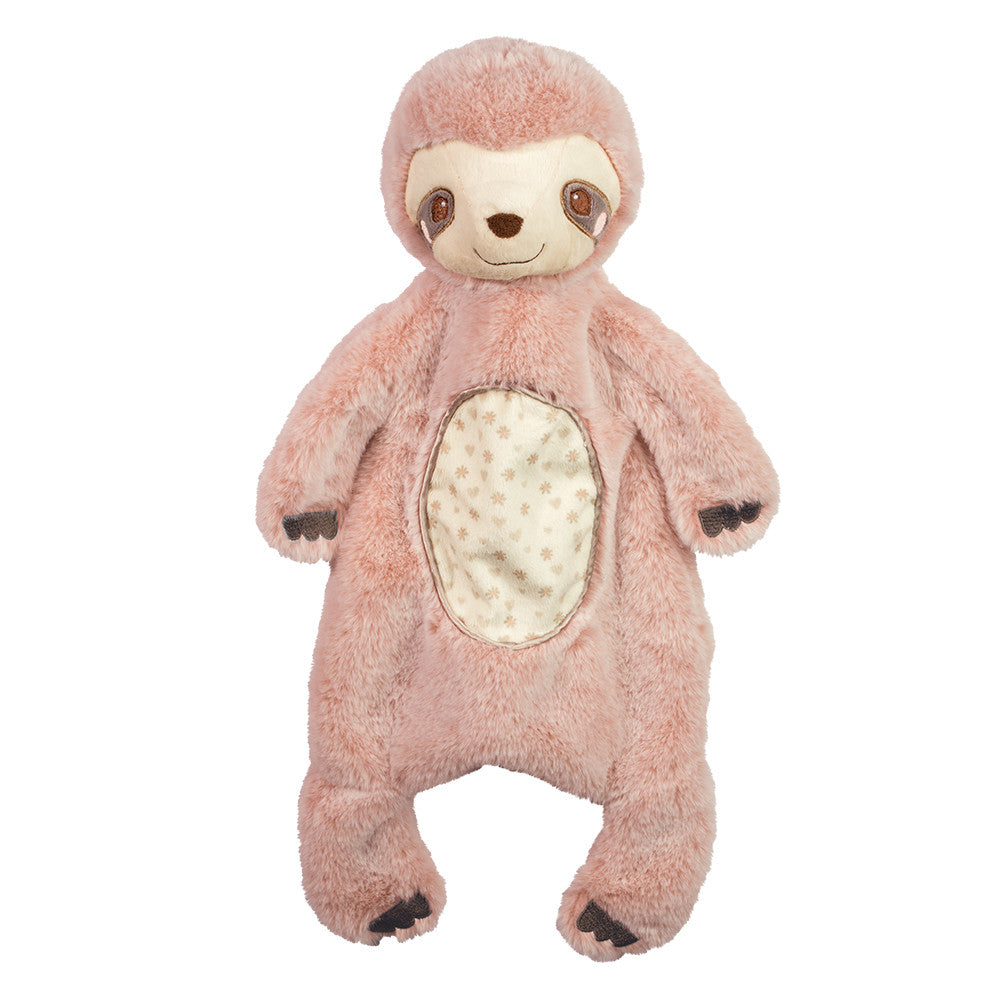 Pink Sloth Sshlumpie Plush Baby Toy by Douglas | BloxxToys