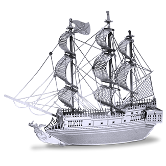 Pirate Ship 3D model - Bloxx Toys - Toronto Online Toys Store - 1