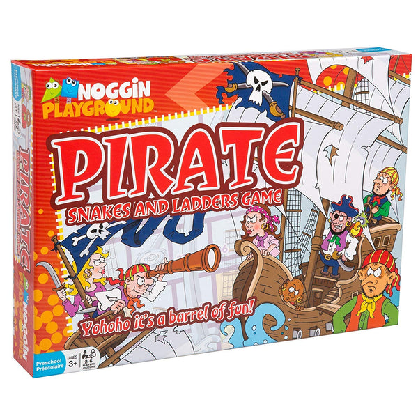 Pirate Snakes and Ladders Game By Noggin-Bloxx Toys-Toronto toys, toy, Montreal toys, Vancouver toys, Alberta toys, Ontario toys, Quebec toys, Children Toys,Kids Toys,Educational toys Online Toys Store Canada