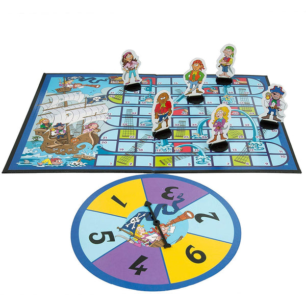 Pirate Snakes and Ladders Game By Noggin Playground