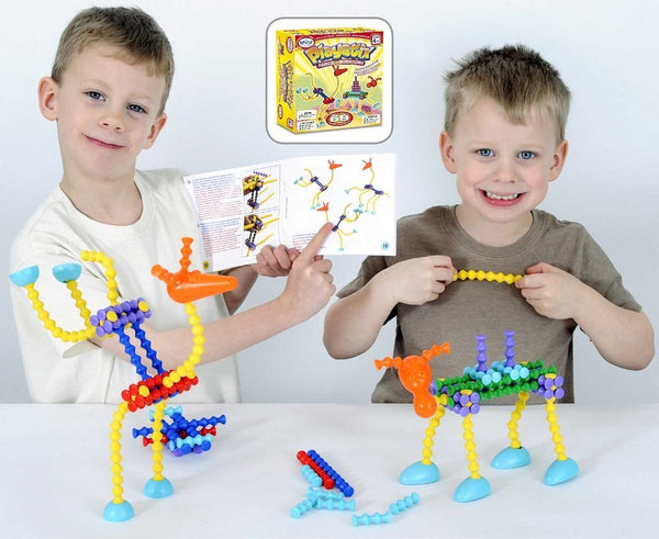 Playstix Flexible Set - 68 pcs by Popular Playthings- Bloxx Toys - Toronto - Educational Online Toys Store Canada