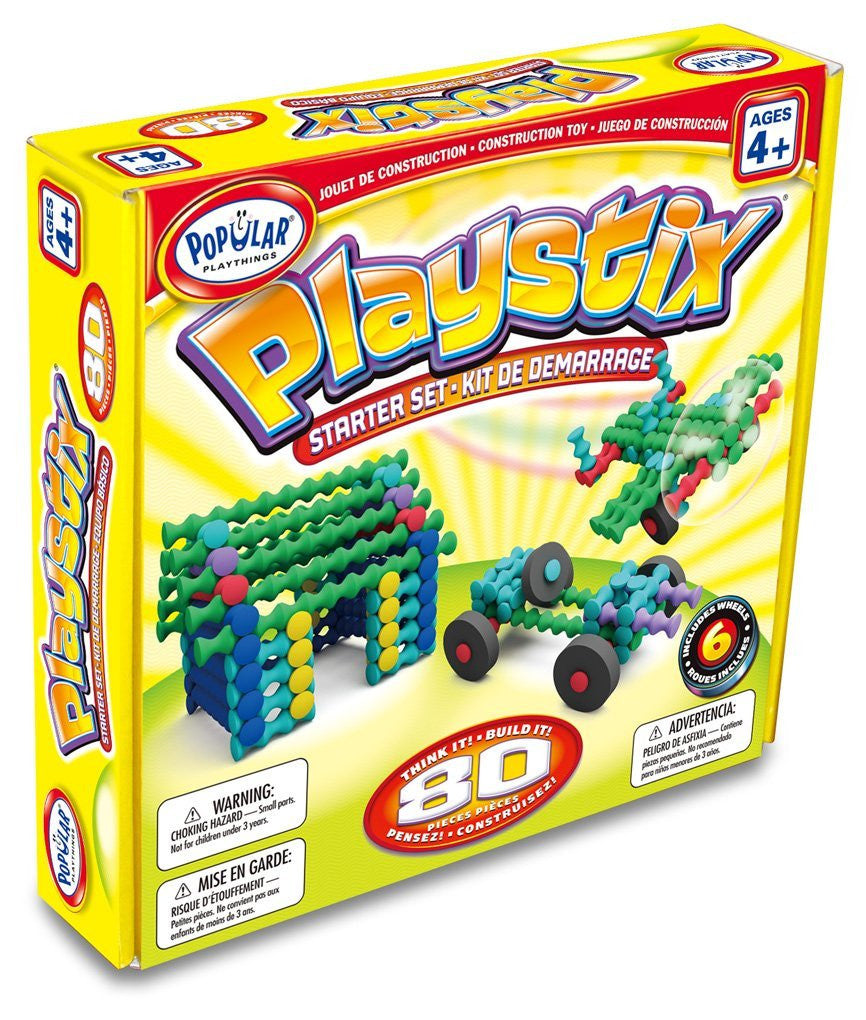 Playstix Starter Set by Popular Playthings - Bloxx Toys - Toronto Online Toys Store - 1