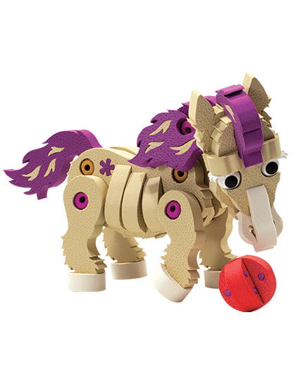 Ponies Foam Blocks By Bloco - Bloxx Toys - Toronto Online Toys Store - 4