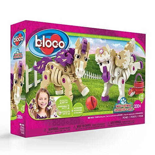 Ponies Foam Blocks By Bloco - Bloxx Toys - Toronto Online Toys Store - 1