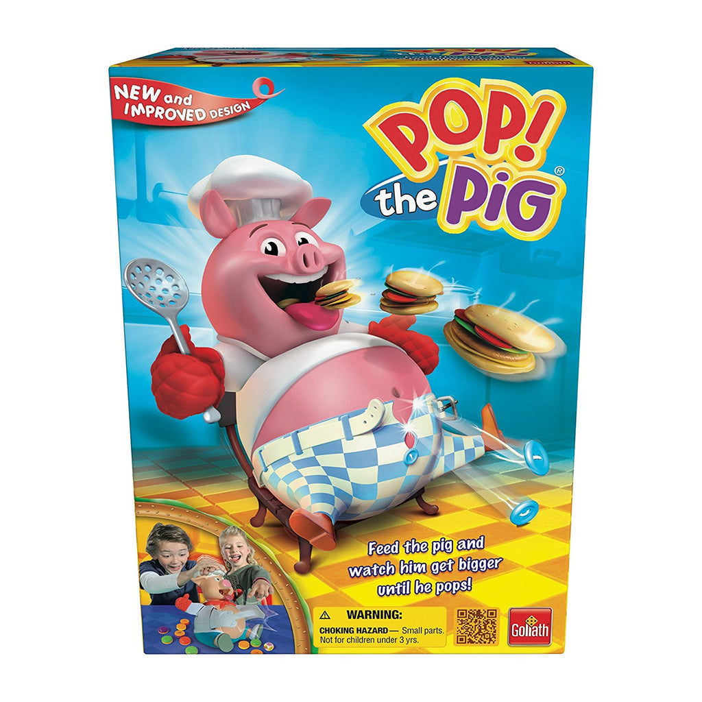 Pop the Pig Game By Goliath - Bloxx Toys - Toronto, Montreal, Vancouver, Alberta, Edmonton, Nova Scotia, Northwest Territories, Yukon Ontario, Quebec, - Educational Online Toys Store Canada