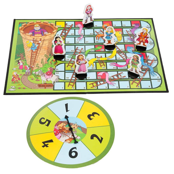 Princess Snakes and Ladders-Early Learning Basic Counting Game By Noggin Playground - Bloxx Toys - Toronto - Educational Online Toys Store Canada