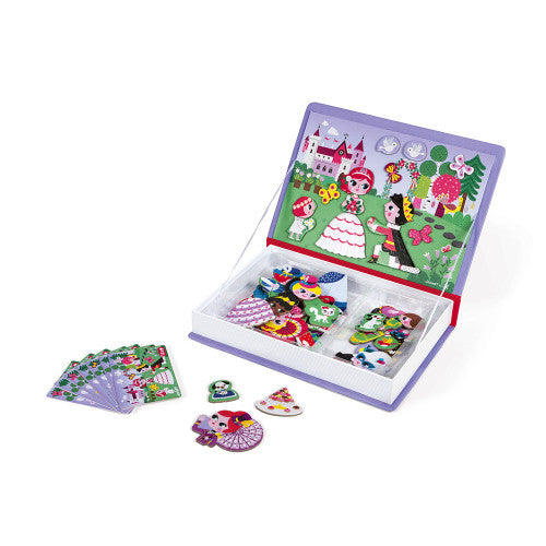 Princess educational magnetic game Book By Janod