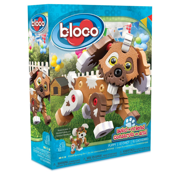 Puppy Foam Blocks By Bloco - Bloxx Toys - Toronto Online Toys Store - 1