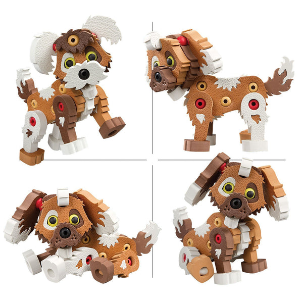 Puppy Foam Blocks By Bloco - Bloxx Toys - Toronto Online Toys Store - 3
