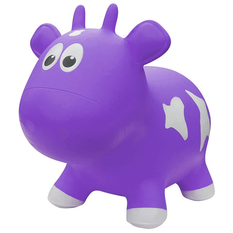 Farm Hoppers Animal Bouncers - Jumping Cow Purple