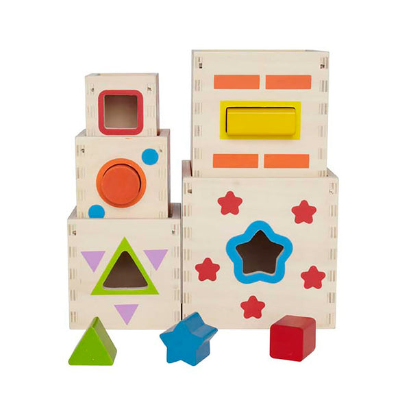 Pyramid of Play Educational Toy By Hape | Baby Toys BloxxToys