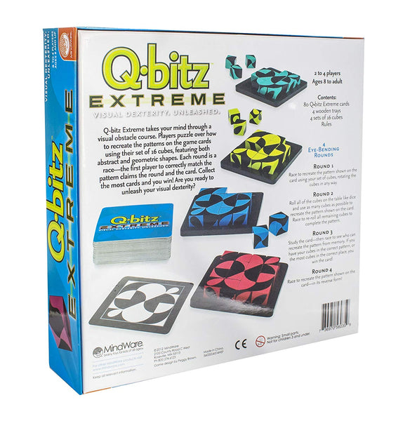Q-bitz Extreme Family Game By MindWare