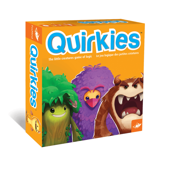 Quirkies Fun Family Logic Game By Foxmind | BloxxToys