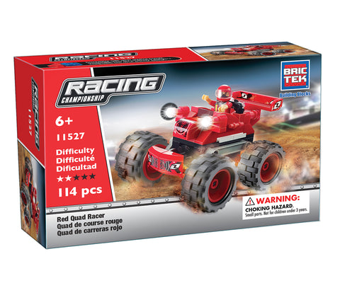 Red Quad Racer By BricTek